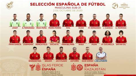 Convocatoria de la selección española sub 21: Brahim ...