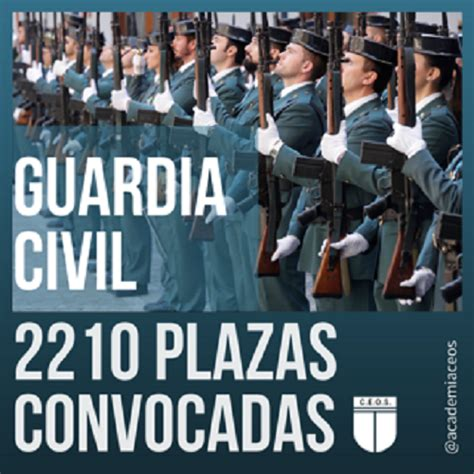 CONVOCATORIA GUARDIA CIVIL   Academia de Oposiciones en ...