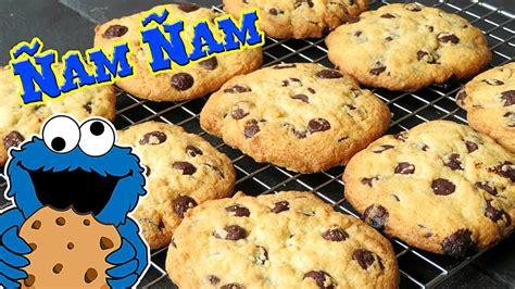 Cookies con pepitas de chocolate. Receta fácil y rápida ...