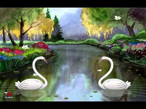 Cool Free Cute I Love You Swans Animated Greeting Ecard ...