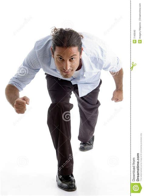 Cool Guy Posing Like Running Stock Photo   Image: 7140040