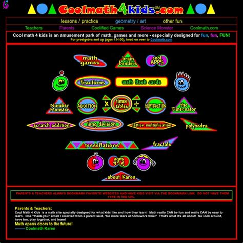 Cool math 4 kids   math games, math puzzles, math lessons ...