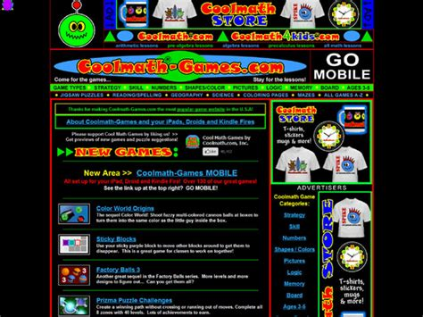 Cool Math Games : Games Unlimited – Gaming Resources