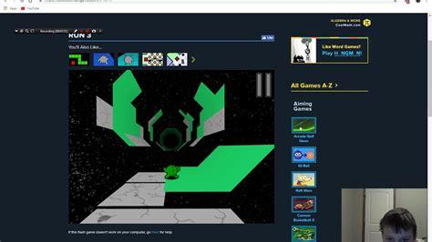 Cool math games run 3 level b 1 to b 10   YouTube