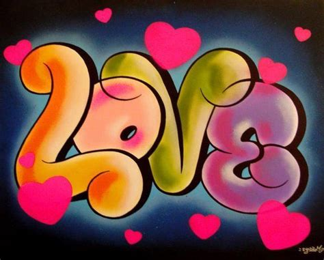 Cool Words In Bubble Letters The word love in bubble ...