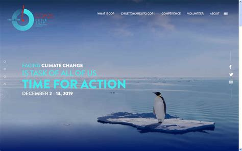 COP 25 CHILE 2019 2020 UNITED NATIONS CLIMATE CHANGE ...