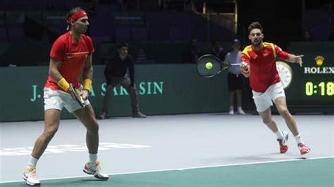 Copa Davis: Nadal y Granollers redondean la victoria de España