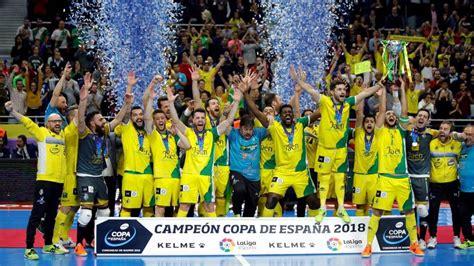 Copa de España de Fútbol Sala: El gol desde su campo que ...