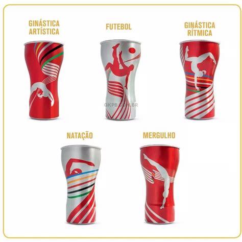 Copos Coca Cola 2016 Olimpíadas Coleção Completa 5 Copos ...