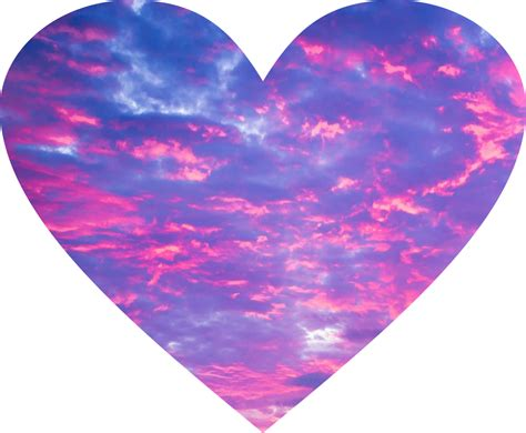 corazon rosa cielo tumblr lindo rosa violeta lila delic...