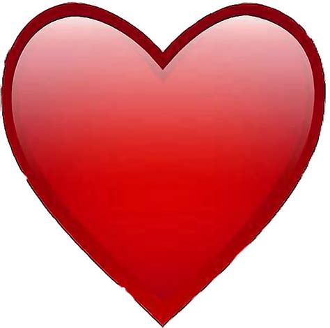 corazon tierno amor love grande rojo freetoedit...