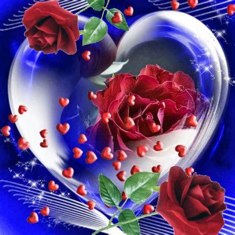 corazones y rosas | Rosas con mensajes, Flores de amor ...