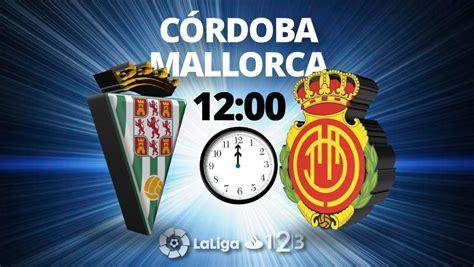 Córdoba   Mallorca: LaLiga 123 de fútbol, en directo hoy