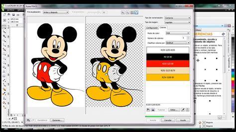 Corel Draw como vectorizar imagenes   YouTube