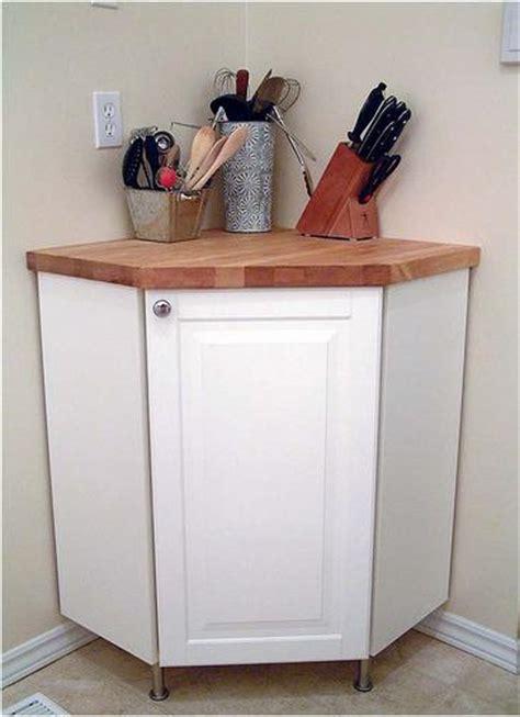Corner Cabinet + Countertop Hack   IKEA Hackers