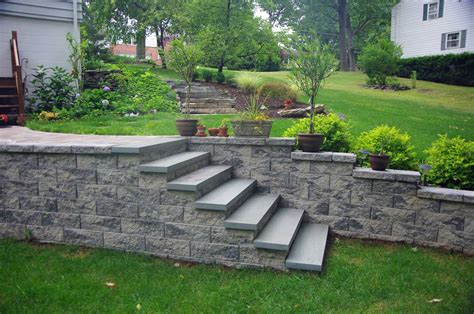CornerStone 100 retaining wall block photos | CornerStone ...