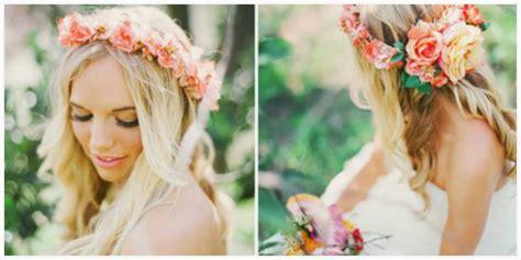 Coronas de flores para novias   Blog de bodas originales ...