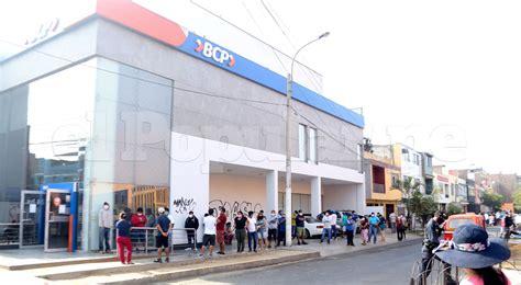 Coronavirus: Defensoría del Pueblo pide a bancos ampliar ...
