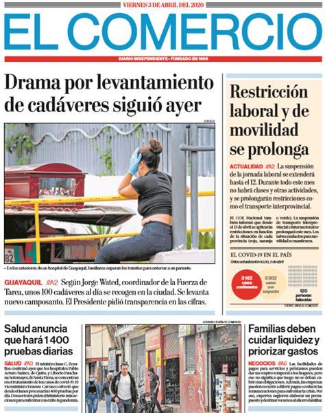 Coronavirus en Ecuador COVID 19 Estado de Excepcion EN ...