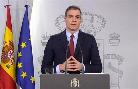 Coronavirus en España: Pedro Sánchez: «La autoridad ...