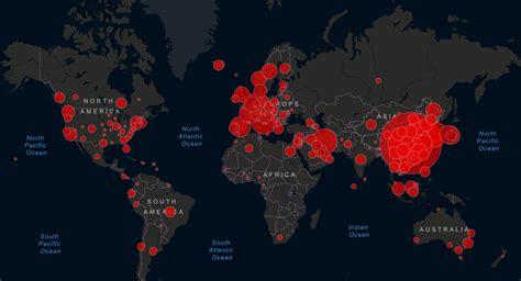 Coronavirus: Mapa en vivo COVID 19 Coronavirus Estados ...