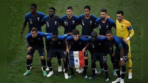 Coronavirus | Selección de Francia y la Federación ...