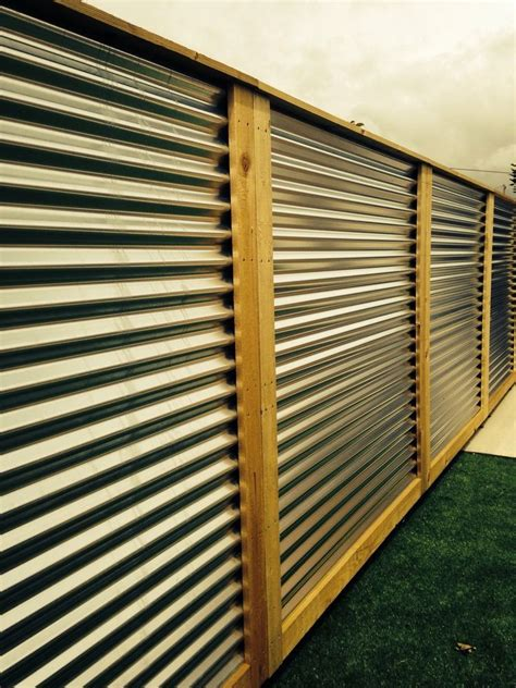 Corrugated metal fence panels in Garden & Patio, Garden ...