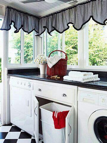 Cortinas originales para una cocina | Diseño de lavadero ...