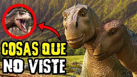 COSAS QUE NUNCA VISTE EN DISNEY DINOSAURIO   YouTube