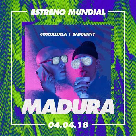 Cosculluela, Bad Bunny   Madura DESCARGAR mp3 ...