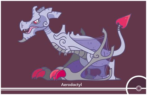 Cosmopoliturtle | Pokemon Redesign #142   Aerodactyl Mega ...