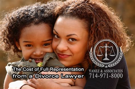 Cost of Hiring a Divorce Lawyer in Orange County
