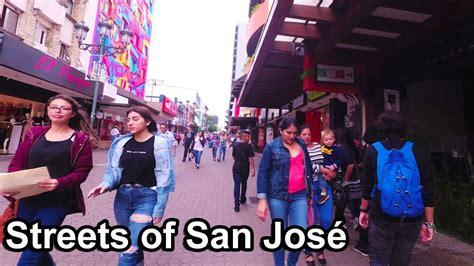 Costa Rica 2017    1  Streets of San Jose Central Avenue ...
