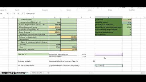Costeo absorbente y costeo directo   YouTube