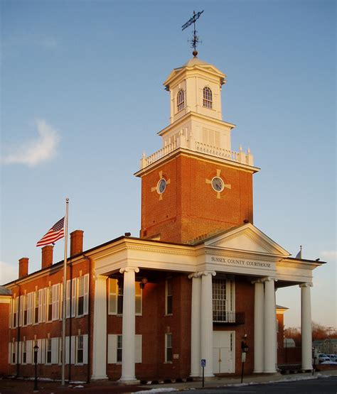 Courthouse, Georgetown, Delaware | Seat of Sussex ...