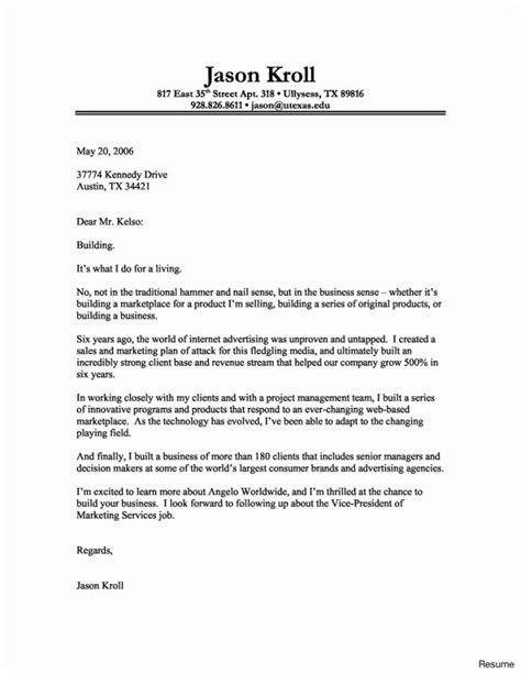 Cover Letter Template Indeed | Cover letter for resume ...