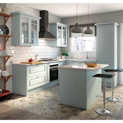 Cozinha 1.80m   DELINIA GALES AZUL   Leroy Merlin | Casa ...