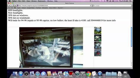 Craigslist Houma Louisiana   Finding Used Cars for Sale by ...