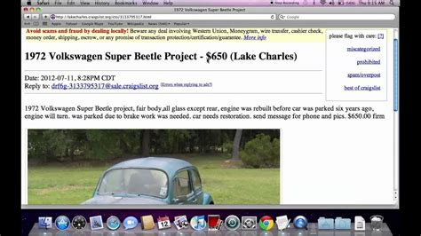 Craigslist Lake Charles Louisiana Used Cars for Sale By ...