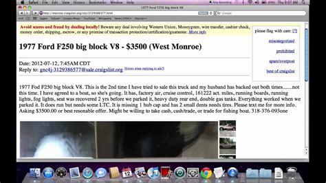 Craigslist Monroe Louisiana Used Cars and Trucks   Chevy ...
