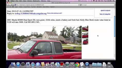 Craigslist New Orleans   Popular Used Cars and Trucks for ...