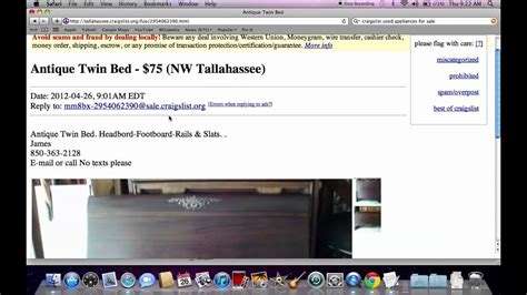 Craigslist Used Furniture For Sale by Owner   Prices Under ...