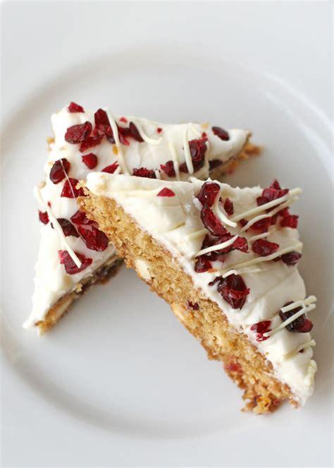 Cranberry White Chocolate Bars {Recipe}   Glorious Treats