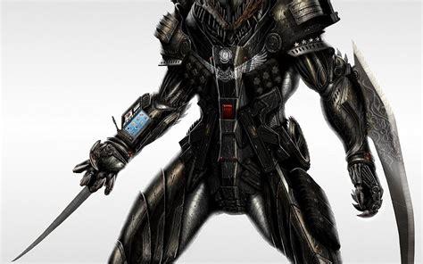 Cráneos armadura armas futuristas de arte digital de ...