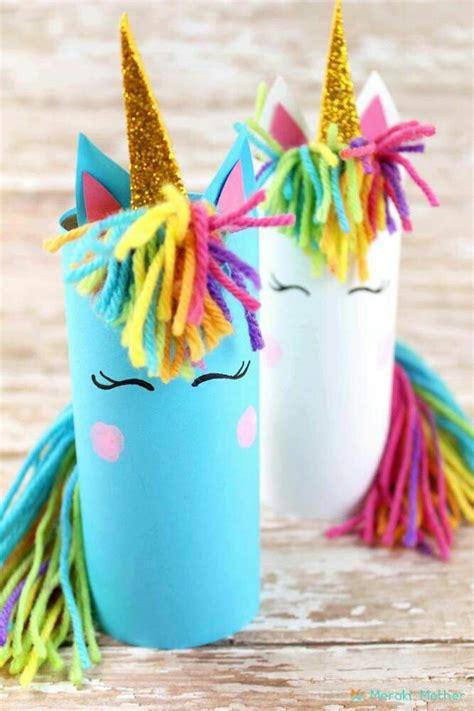 Crea en un 2x3: Manualidades de unicornio para hacer con niños