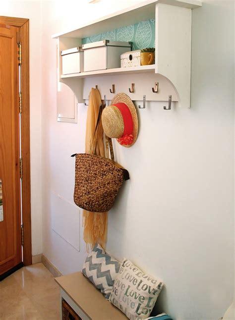 crea un mueble perchero para el recibidor   Piensa en Deco