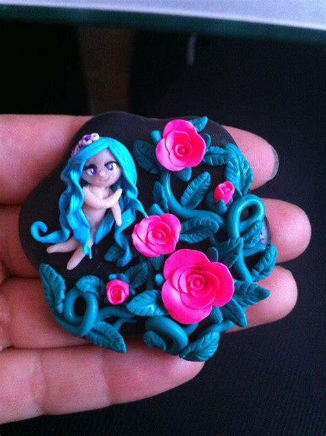 Creaciones en Polymer Clay by Marta: Sirenita & Broches
