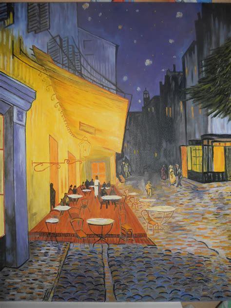 CREACIONES Y PINTURAS ROUS: Cuadro. Van Gogh. Terraza de ...