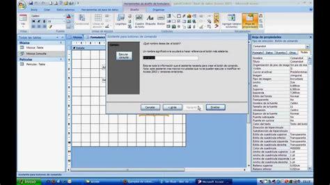 Crear formularios en Access 2007 con acceso a parámetros ...