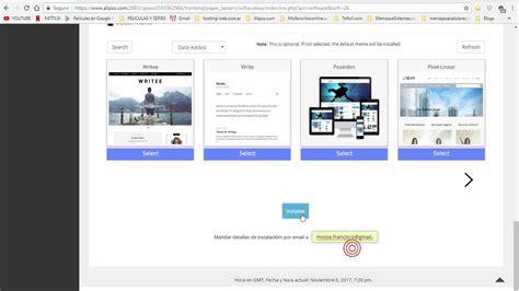 Crear pagina web con wordpress y cpanel en 6 minutos   YouTube